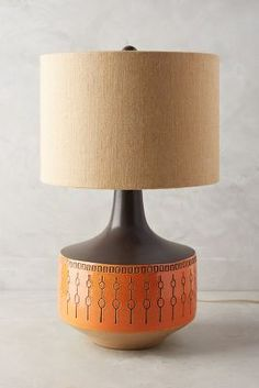 Demelza Lamp in the Mid Century Modern Style