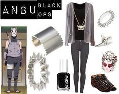 Modern Cosplay: Anbu Black Ops, Naruto Shippuden