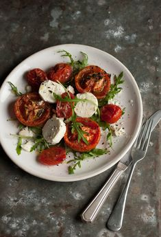 3 ways with roasted tomatoes