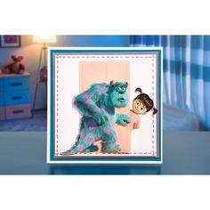 This Disney Pixar Monsters, Inc. Collection is official and exclusively designed at Create and Craft. Disney Monsters, Monsters Inc, Disney Pixar, Create And Craft, Frame, Cards, Colour, Collection, Children
