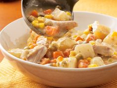 Slow Cooker Chicken Alfredo Stew    This looks good and easy, too!