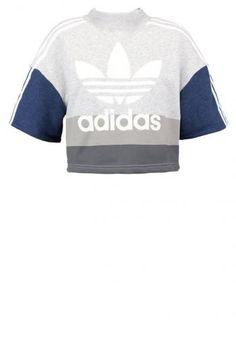 3bb04819dbb5b adidas Originals Sweatshirt collegiate navy light grey heather white Sale  at Zalando UK