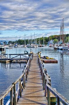 Camden, Maine - the Harbor