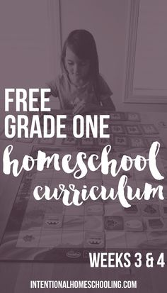 Our Homemade Grade One Homeschool Curriculum - Weeks 3 & 4 - includes Bible, writing, reading, math, science, history, geography, art and music!