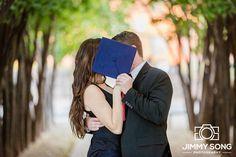 Tucson Arizona University of Arizona Senior Grad Graduation Pictures Photographer Dress Cap Gown Couples Engagement Wedding Suit Tie Love Romantic Bokeh