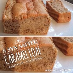 Eating Yourself Slim: Salted Caramel Loaf astuce recette minceur girl world world recipes world snacks Slimming World Cookies, Slimming World Taster Ideas, Slimming World Deserts, Slimming World Puddings, Slimming World Breakfast, Slimming World Recipes Syn Free, Slimming World Diet, Slimming Eats, Slimming Word