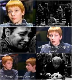 (notitle) - Fred and George - - Hagrid Cake - Harry Potter Twins, Harry Potter Feels, Harry Potter Tumblr, Harry Potter Jokes, Harry Potter Characters, Harry Potter Fandom, Harry Potter Universal, Harry Potter World, Harry Potter Jk Rowling