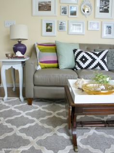 One Couch, Three Ways - Up to Date Interiors