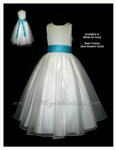 Flower girl... Janae's dress
