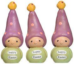 Enesco Bea's Wees by Natalie Kibbe Happy Easter Mini Figurine, 3.5-Inch Enesco http://smile.amazon.com/dp/B00MXSHVGI/ref=cm_sw_r_pi_dp_rFuJwb0ZYSXQT