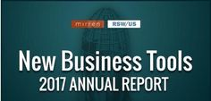 Visit the RSW/US booth at Mirren Live Tuesday and Wednesday in NYC and pick up your copy of the recently compiled Agency New Business Tools Report!   Review our 2016 Report here: https://www.rswus.com/resources/survey-results/?utm_content=bufferfad5a&utm_medium=social&utm_source=pinterest.com&utm_campaign=buffer