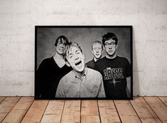 Blur Damon Albern Sketch Art Portrait Print A4 Poster Collectable Memorabilia