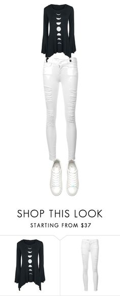 Designer Clothes, Shoes & Bags for Women White Jeans, Shoe Bag, Spring, Frame, Polyvore, Pants, Stuff To Buy, Outfits, Collection
