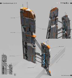ArtStation - Hangars items for Star conflict project , Denis Melnychenko