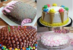 Βασικά βήματα για να φτιάξετε παιδικές τούρτες γενεθλίων! - Daddy-Cool.gr Birthday Sweets, Happy Birthday, Birthday Parties, Birthday Cakes, Happy Paintings, Allrecipes, Party Time, Cupcakes, Baking