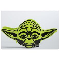 "NWT Star Wars Yoda coin purse NWT Yoda coin purse in lime green.  He measures 8"" wide and is about 4"" tall.  1.5"" deep.  Actual coin bag is 4"" tall 3.5"" wide.  Interior is black. Star Wars Bags"
