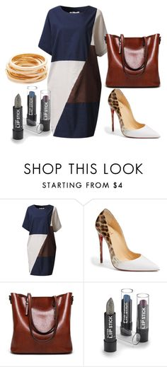 """Final Encore"" by mardenec ❤ liked on Polyvore featuring Christian Louboutin and Kenneth Jay Lane"