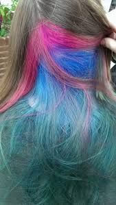 Image result for blue peek a boo highlights