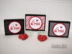 Creative Itch: Valentine Treat Boxes (sharing a little late)