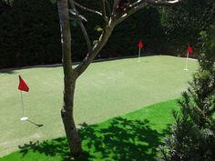 putting green de cesped artificial especial para golf instalado en Burgos. #greencespedartificial #artificial_golf #putting_green #golf #europe #allgrass