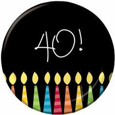 40 Great Birthday Dessert Plates