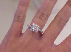 tw quad princess cut diamond framed three piece bridal set in 14k white gold - Zales Wedding Rings Sets