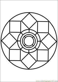 free printable coloring image Mandala 79