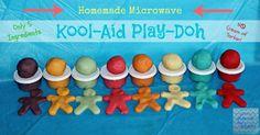 Homemade Microwave Play Doh