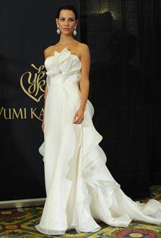 Brides: Yumi Katsura - Spring 2013 | Bridal Runway Shows | Wedding Dresses and Style | Brides.com