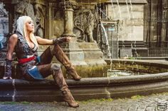 Videogame: Assansin´s Creed - Black Flag 4.  Character: Edward Kenway. Cosplayer: Jessica Nigri. From: Arizona, US. Event: Gamescom. Photo:  Vincent D. Photography.