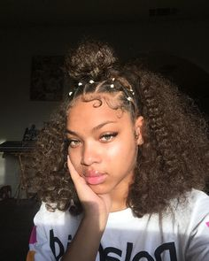 For More Pins Like This Yamomsahoe Her Ig Sziimba - baddie hairstyles rubberbands baddie hairstyles short Curly Hair Styles, Short Hair Styles Easy, Medium Hair Styles, Natural Hair Styles For Black Women, Baddie Hairstyles, Cute Hairstyles, Mixed Girl Hairstyles, Cute Natural Hairstyles, Toddler Hairstyles