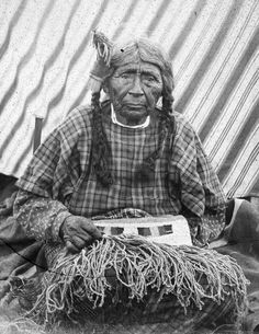 100 year old Nez  Perces woman