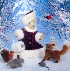 Muffy vanderbear images | 2000 Christmas Limited Edition