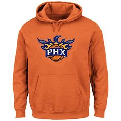 NBA Mens Majestic Tek Patch Pullover Hoodie Fleece XLarge Phoenix Suns    Check out the image 3940e0167