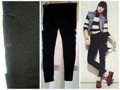 Black Leather Jeans, Pants, Fashion, Trouser Pants, Moda, Fashion Styles, Women's Pants, Women Pants, Fashion Illustrations