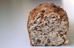 toasted coconut + pecan bread.