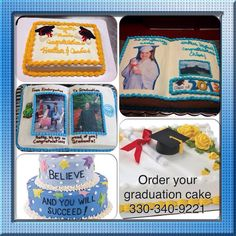 Cakes I've made contact me to order