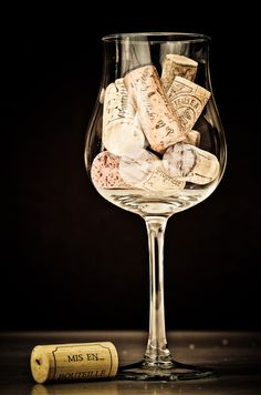 Glass of wine - Verre bouchonné by Gregory Laroche on 500px