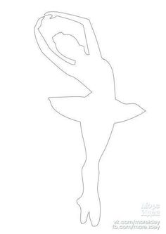 Балерина для гирлянды или подвески 2