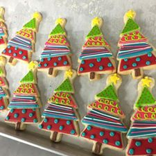 Savoy biscuit with Mercotte chocolate - HQ Recipes Christmas Tree Cookies, Christmas Star, Holiday Cookies, Christmas Balls, Christmas Desserts, Christmas Treats, Christmas Baking, Christmas Ornaments, Christmas Recipes
