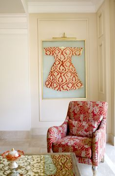 . Leila, Cutwork, Art Decor, Living Spaces, Ottoman, Needlework, Coins, Painted Canvas, Coining