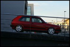 Volkswagen Golf MK2 borbet