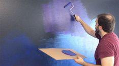 Painting a Galaxy Wall