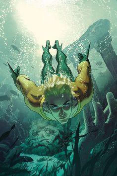 Aquaman 4 by Joshua Middleton // DC Comics