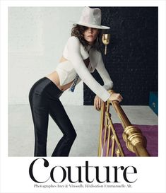 Cover story of French Vogue featuring supermodel Freja Beha Erichsen photographed by Inez and Vinoodh with styling by Emmanuelle Alt.