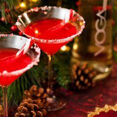 Festive Black Raspberry Martini | Women's Health