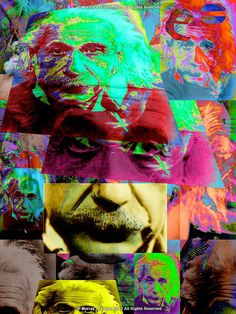 Infinite ALBERT EINSTEIN   Fine Pop Art Giclee Print by EisnerArt, $25.00