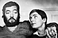 Julio Cortázar & Carol Dunlop.  #Cortazar #rayuela #love
