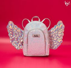 Wishlist-worthy backpacks with wings are sure to make her shine.