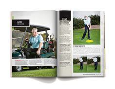 Instructor profile for Southland Golf #magazine #editorial